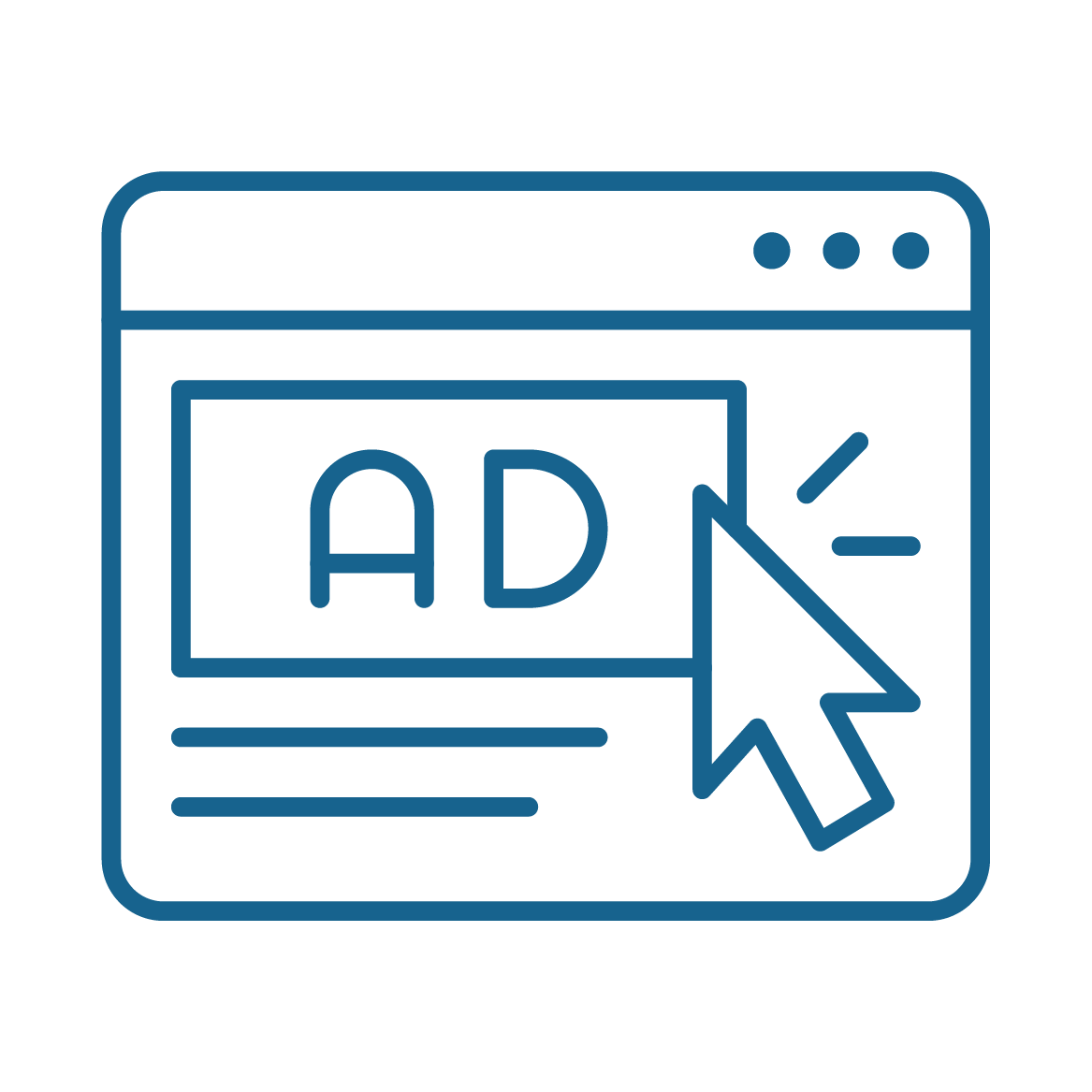 Digital Advertising Icon